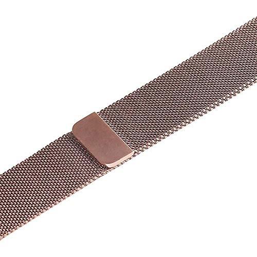 LANGY Adatto per Cinturino Milano Iwatch Serie 5 4 3 2 44 mm 40 mm 42 mm 42 mm 38 mm Cinturino Cinturino in Acciaio Inossidabile