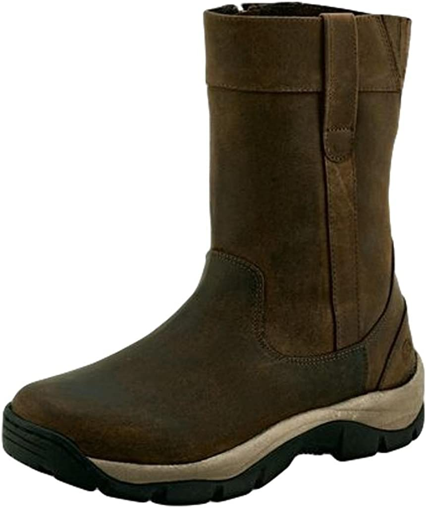 Old West Brown Mens Leather 9in Casual