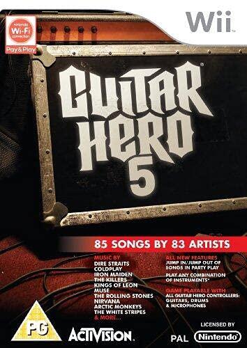 Guitar Hero 5 [Importación Francesa]