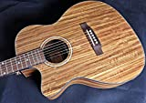 Left handed electro acoustic guitar - walnut - 20th anniversary series - FALTDWALOCLH