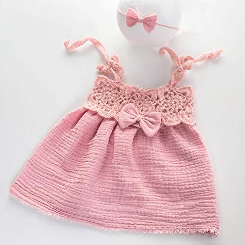 Nursel Handmade, Baby Angora Häckeloutfit mit Musselin, Haarband, Baby Kleid, Neugeborene Häckel Kleid, Neugeborenenaccessoires, Fotografie Accessoires, Fotografie Requisiten