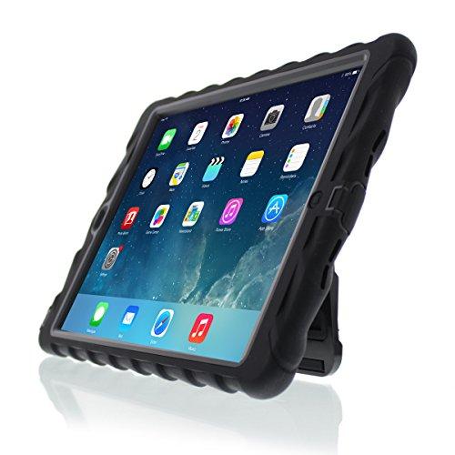 Gumdrop Capa escondida para tablet Apple iPad Air 2015 para alunos K-12, crianças – preta, resistente, absorção de choque, proteção extrema