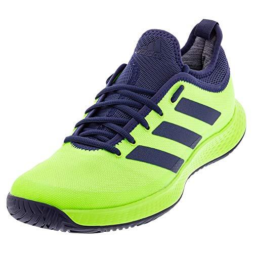 adidas Men's Defiant Generation Tennis Shoe, Green/Indigo/Green, 12