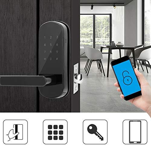 Intelligent deurslot, antidiefstal elektronisch digitaal toetsenbord Bluetooth APP-kaart wachtwoord toegangspoort beveiligingssysteem bout voor het thuiskantoor