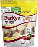 BARKYS Comida para Perros Hueso de Carnaza (10 Piezas)