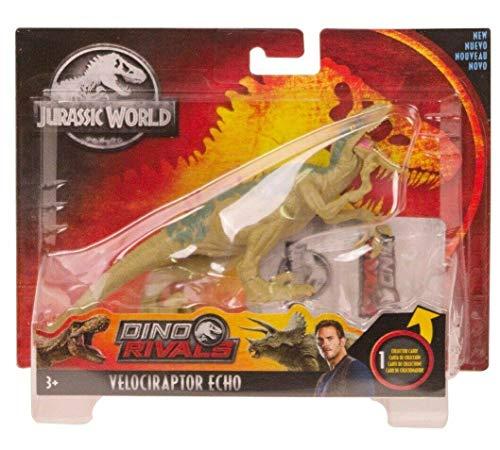 NEW SEALED Jurassic World Dino Rivals Velociraptor Echo Action Figure - Movie Figurines