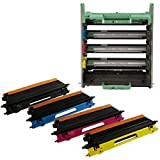 CALITONER Remanufactured Laser Toner Cartridge Replacement for Brother DR110CL Drum Unit and Toner TN115 -Complete Set