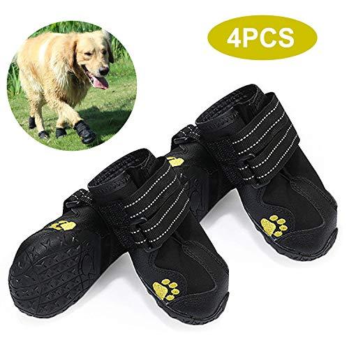 Yorten 4PCS Zapatos para Perros