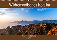 Wildromatisches Korsika (Wandkalender 2022 DIN A2 quer): Korsika - die bergig gruene Insel Frankreichs (Geburtstagskalender, 14 Seiten )