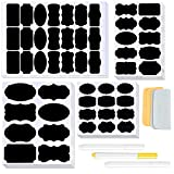 Chalkboard Labels, 234PCS Chalk Sticker Labels for Containers Mason Jars Bottles Glasses with 3 Pens and 2 Pieces of Towels