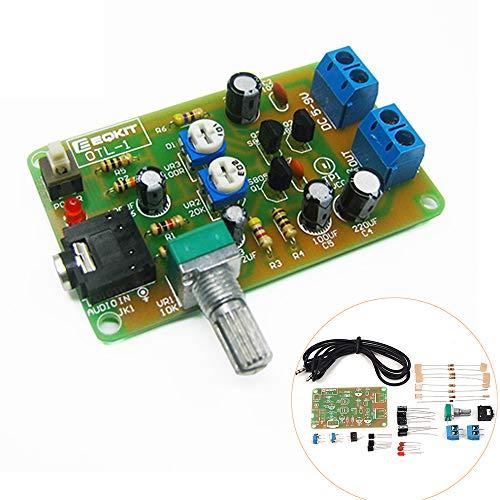 ILS - 10 Stück OTL-1 Leistungsverstärkerschaltung DIY Kit High Sensitivity OTL Diskrete Komponenten Verstärker Kit