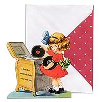 パンチスタジオ バレンタインカード 封筒セット Love Tunes