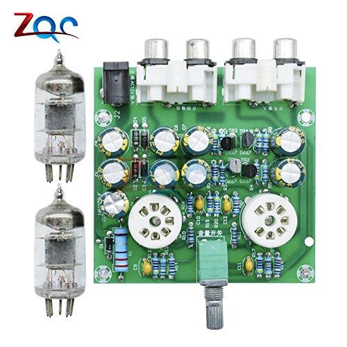 6J1 RöhrenVorverstärker Kopfhörer-LeistungsVerstärker Power amp Tube Puffer Basis auf Musik Fidelity X-10D Circuit