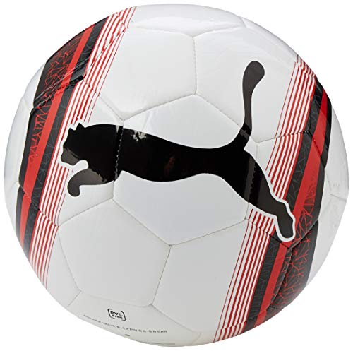 PUMA Big Cat 3 Ball, Pallone da Calcio Unisex Adulto, White Red Black, 4