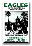 Poster The Eagles Band 11x 17Hotel California World