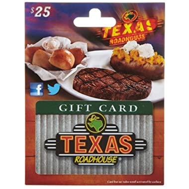 Texas Roadhouse Gift Card 25