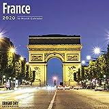 2020 France Wall Calendar by B...
