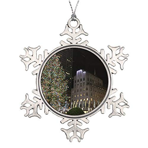 None-brands New York Christmas Nyc Rockefeller Center Tree Ornament Tree Hanging Decor gift For Families Friends,Decoration Ornamen Christmas Pendants Year of Quarantine Christmas Tree Hanging