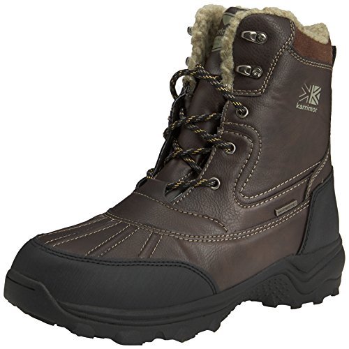 Photo of Karrimor Men's Snow Casual 3 Weathertite High Rise Hiking Boots, Brown, 7 UK