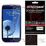 TECHGEAR [3 Pack] Protection d'Écran pour Galaxy S3 (i9300 / i9305), Film de...