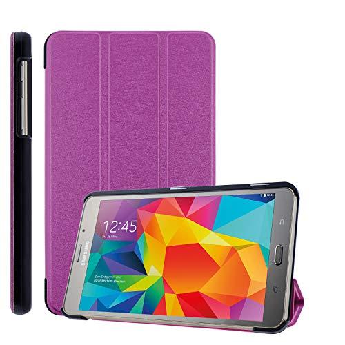 COOVY® Ultra Slim Cover für Samsung TAB A 7.0 SM-T280 SM-T285 Smart Schutzhülle Hülle Hülle mit Standfunktion   hotpink