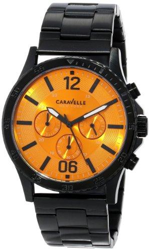 Bulova 45A108 - Reloj de Pulsera Hombre, Acero Inoxidable, Color Negro
