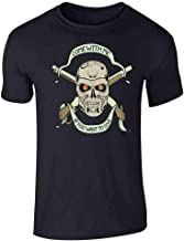 Pop Threads Come with Me If You Want to Live Retro Tattoo Graphic Tee T-Shirt for Men