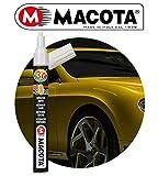 MACOTA AUTOCOLOR PEN PENNARELLO RITOCCO VERNICE RIEMPITIVO AUTO MOTO FURGONE CAMPER CAMION RIPARA CARROZZERIA RIMUOVE GRAFFI PUNTINATURE PROFESSIONALE DOPPIO TRATTO FAI DA TE 10 ml (GRIGIO MET. 87064)