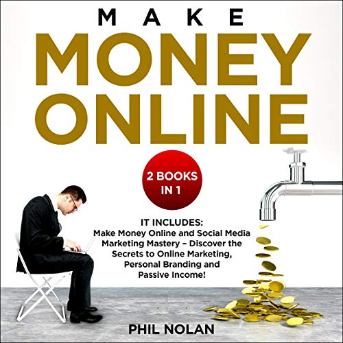 『Make Money Online 2 Books in 1』のカバーアート
