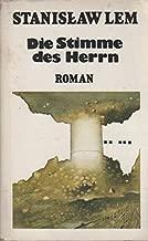 Die Stimme des Herrn: Roman (Werke in Einzelausgaben / Stanisław Lem) (German Edition)
