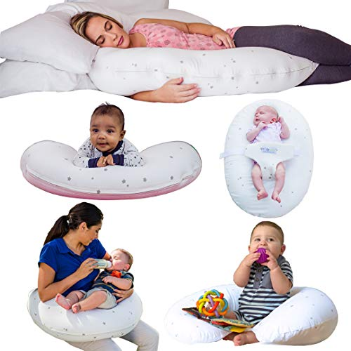 Why Choose CozyBaby 5-in-1 Pregnancy, Breast Feeding & Baby Pillow. 5 Essential Uses from Pregnancy ...