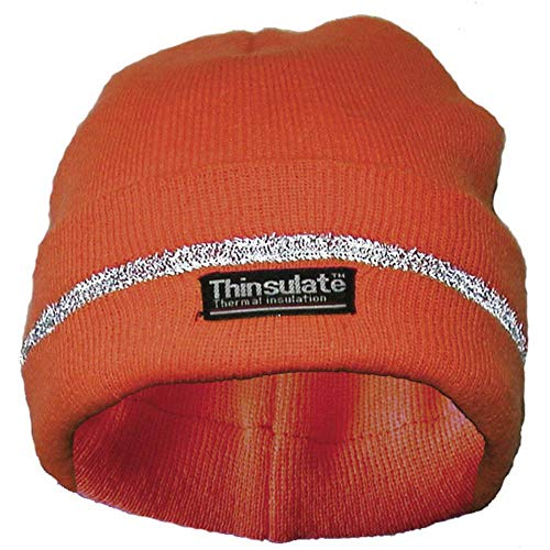 Bonnet tricoté orange fluo UPIXX 40312