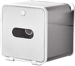XYZMDJ Waterdichte creatieve rolhouder - wandmontage zonder boren, eenvoudig te installeren stabiele toiletpapierhouder (k...