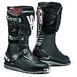 SIDI Mens Discovery Rain Off-Road Boots Black 9.5