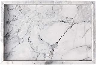 Best white marble tray Reviews