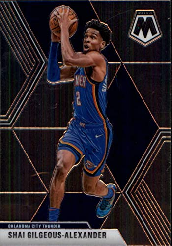 2019-20 Panini Mosaic #133 Shai Gilgeous-Alexander Oklahoma City Thunder NBA Basketball Card NM-MT