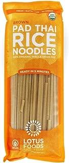 LOTUS FOODS Organic Brown Rice Pad Thai Noodles, 8 OZ