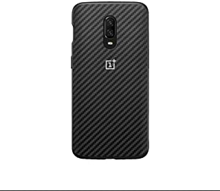 For Oneplus 6T, carbon Fiber Pattern case back cover.