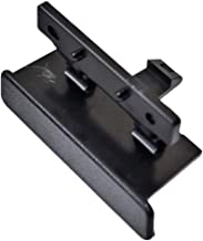 PT Auto Warehouse GM-9546-LT - Center Console Lid Latch, Black - for Vehicles with Front Bucket Seat, with 3-Cupholder Console