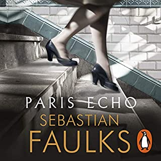Paris Echo                   By:                                                                                                                                 Sebastian Faulks                               Narrated by:                                                                                                                                 Elham Ehsas,                                                                                        Deborah McBride                      Length: 9 hrs and 9 mins     85 ratings     Overall 3.7