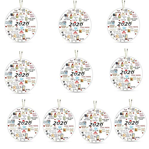 Christmas Personalized Creative Text Christmas Tree Hanging Decorations Home & Garden Home Decor