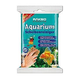 RAKSO Süßwasser Aquarium-Fenster-Glas-Reiniger