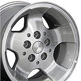 OE Wheels LLC 15 inch Rim Fits Jeep Wrangler Wheel JP08 15x8 Silver Wheel Hollander 9024