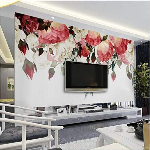 Cczxfcc 3D natuur behang fotobehang grootte voor woonkamer slaapkamer bloem wandschilderijen designer goedkoop behang 350 cm x 245 cm.