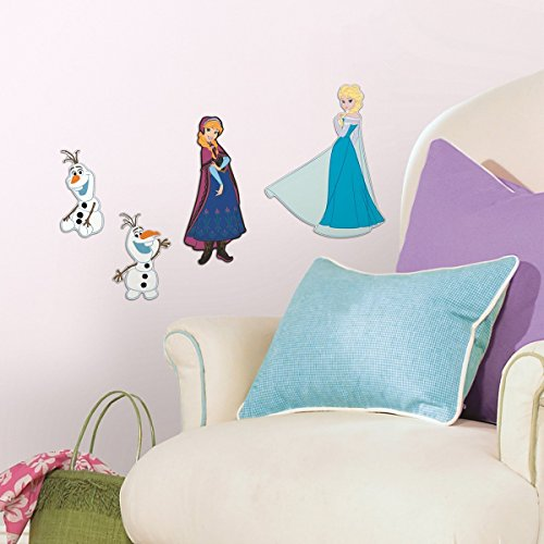 RoomMates 4 Stickers Mousse La Reine des Neiges Disney Frozen