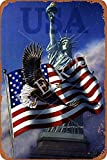 Usa Eagle Jahrgang Blechschild Kunst Eisenmalerei rostig