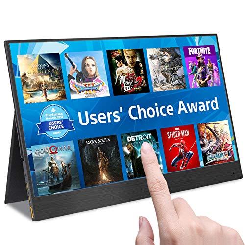 13.3 inch 4k portable-monitor Full HD met type-C USB HDMI voor uitbreiding van mobiele pc laptop tweede scherm spel kantoor,Touch screen