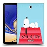 Head Case Designs Oficial Peanuts Casa Snoopy Deco Dreams Cover Carcasa rígida Compatible con Galaxy Tab S4 10.5 (2018)