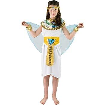 Disfraz infantil egipcio Niña Pequeño 4-6 AÑOS: Amazon.es ...