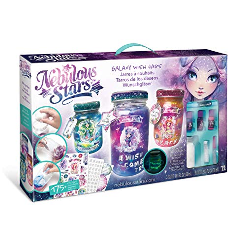 Galaxy Wish Jars – Magical creative craft for girls – With glow in the dark paint
